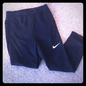 Black XL Youth Nike sweat pants